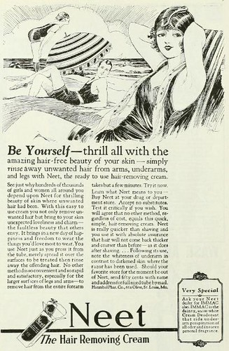 Vintage Advert for Neet Hair Removal Cream : Photoplay 1925 | by CharmaineZoe's Marvelous Melange
