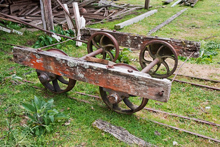Timber trolley at the mill | by Krustysimplex