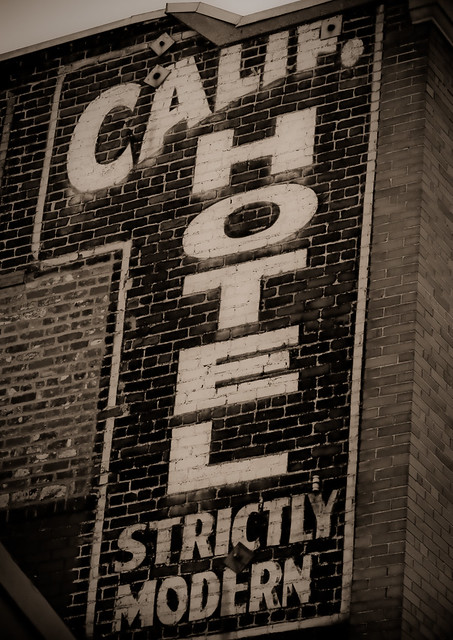 California Hotel - ghost sign