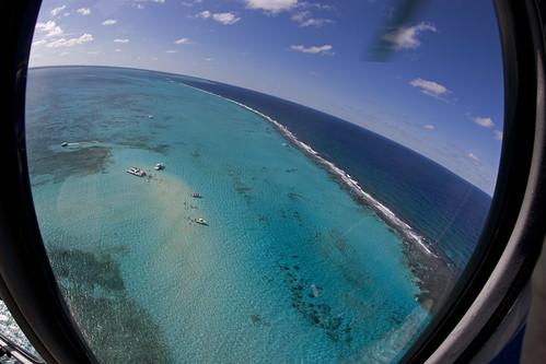 tour aerialview helicopter caymanislands grandcayman shoal caribbeansea stingraycity fisheyelense caymanislandshelicopters