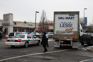 Wal-Mart Truck Stuck in Carytown | by Gamma Man
