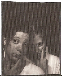 1990 Photobooth - Me and Eileen