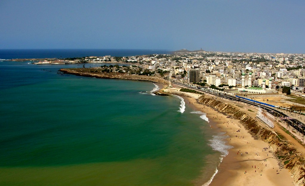 Dakar Senegal - Looking North