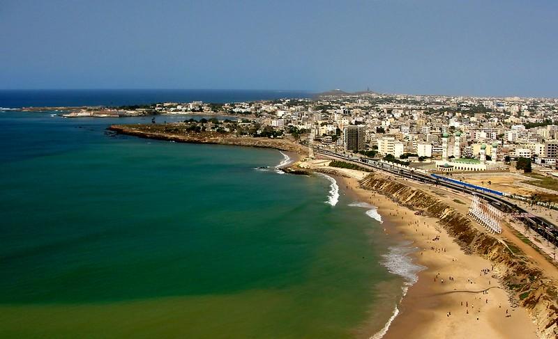 Dakar Senegal - Looking North