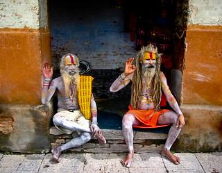 Kathmandu holy mans