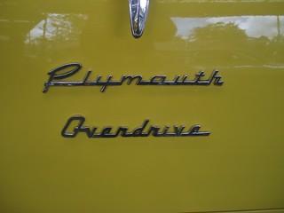 1956 Plymouth P25 Savoy coupe utility