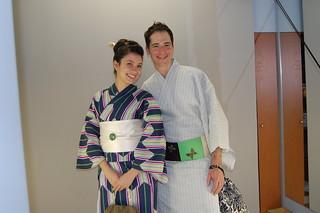 Kimono model2   by greentour-KYOTO