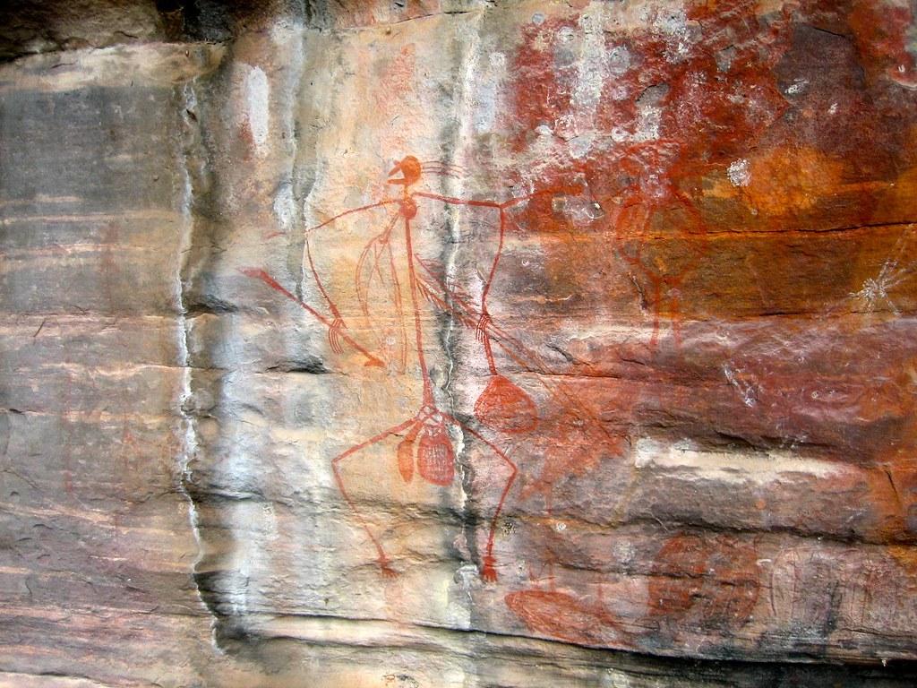 Aboriginal Rock Art, Kakadu, NT