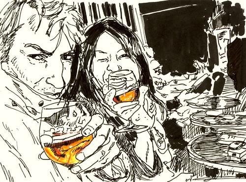 for Julia Kay's Portrait Party : Jacques Bordier