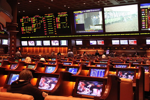 Sportsbook at the Wynn | by leyla.a