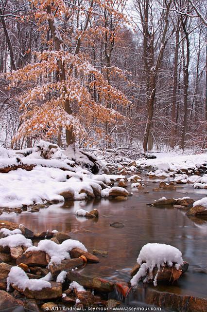 Snow Stream hdr 13