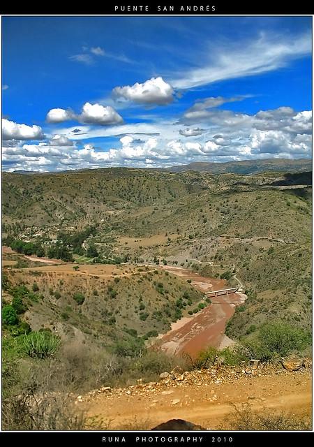 Puente de San Andrés sobre el Río Cachimayo