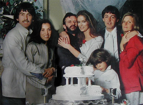 Image result for Ringo Barbara wedding 1981