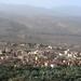 Al Hamra, v horách vzadu leží Misfat, foto: Petr Nejedlý