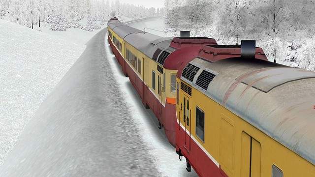 D1-737, D1-780, Microsoft Train Simulator, Aleksandrovo-Troizk Route