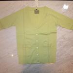 カーディガン TVCL05A11005 淡緑 ¥2,980