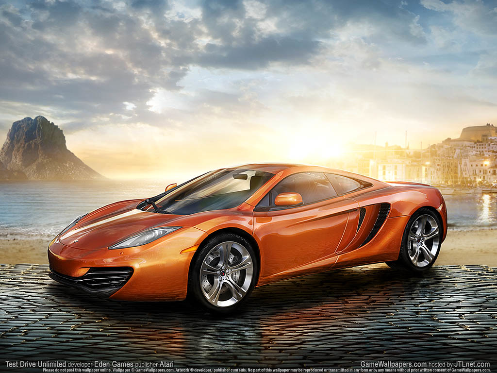 Test Drive Unlimited Game Game Wallpaper Test Drive Unlimi