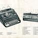 Continental Kleinschreibmaschine