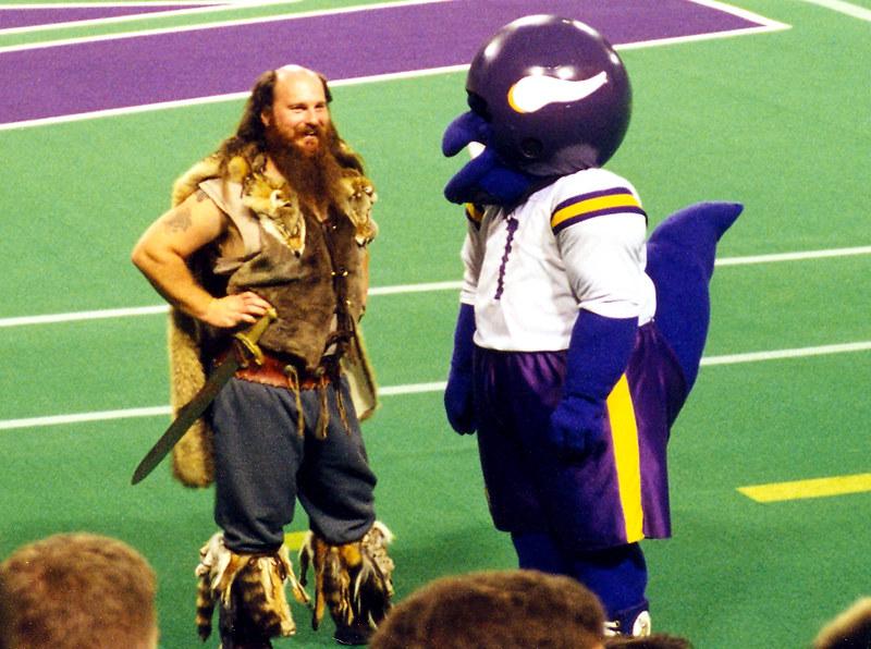 Ragnar Vikandontis Rex Minnesota Vikings Mascots Flickr