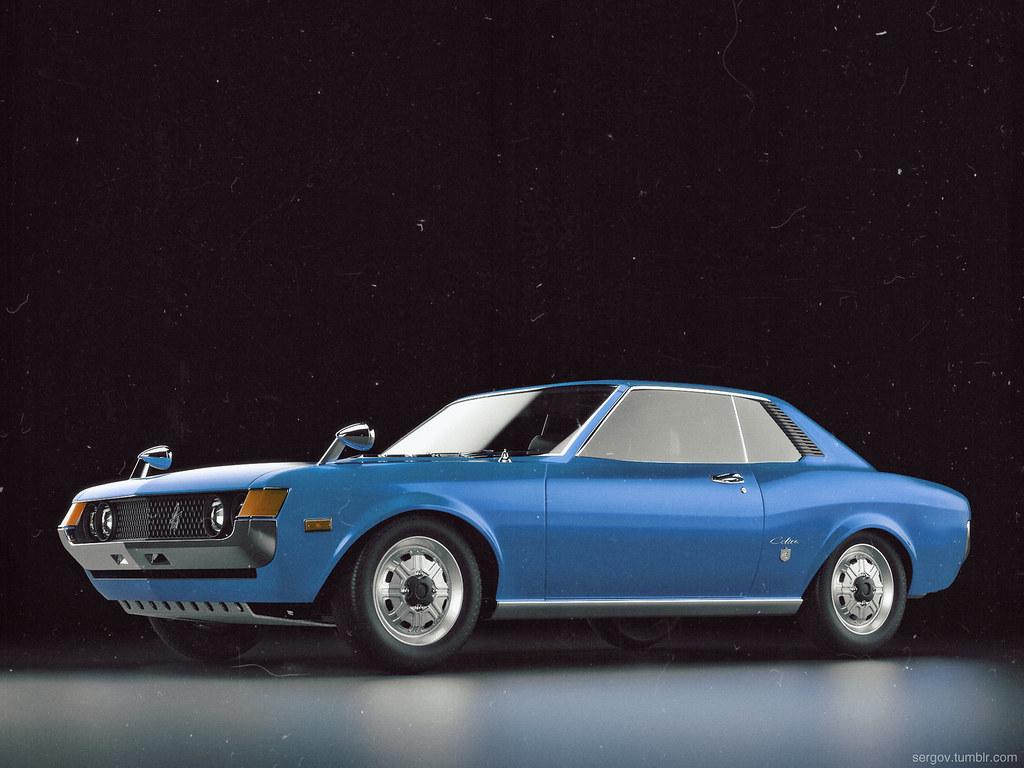 Celica Gt 1967 Model By Arover Sergey Eizhvertinsh Flickr