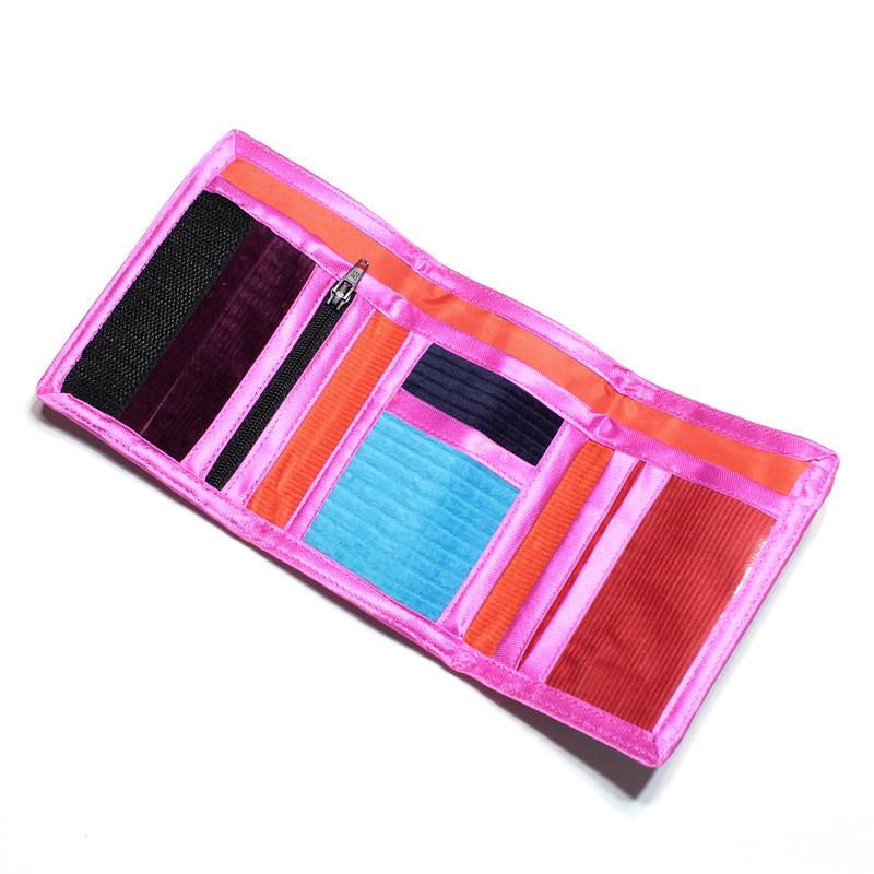 Handmade corduroy wallet
