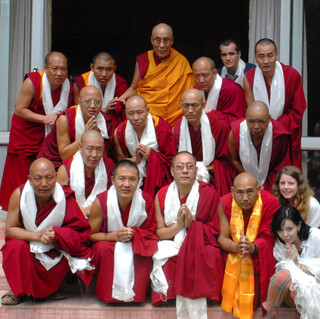 IBD's language students with HHDL | by heidiminx1