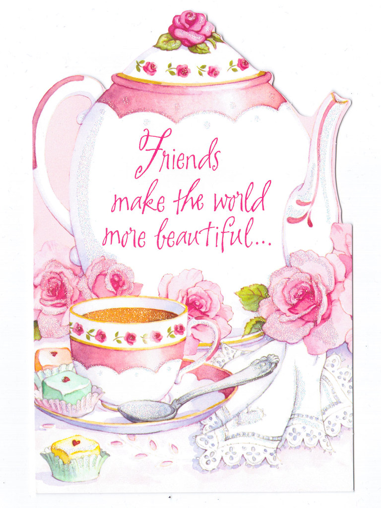 Awe Inspiring Friends Make The World More Beautiful Birthday Card Flickr Funny Birthday Cards Online Inifodamsfinfo