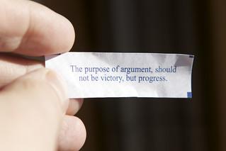 The Purpose of Argument   by ImNotQuiteJack