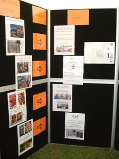 Library display at Affirm
