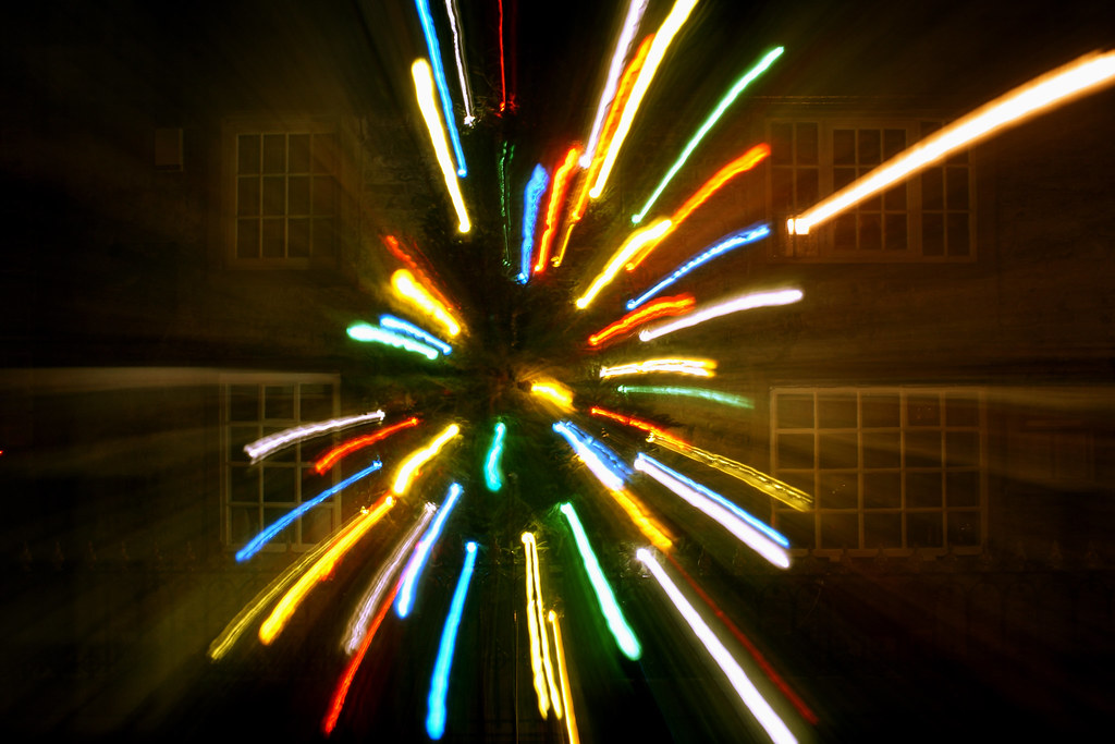 Christmas Tree - Zoom Lens Style!