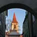 Český Krumlov, věž minoritského kláštera, foto: Petr Nejedlý
