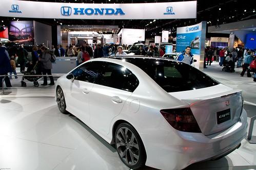 2012 Honda Civic Sedan ConceptNAIAS 2011 - Detroit, Michigan-126 Photo