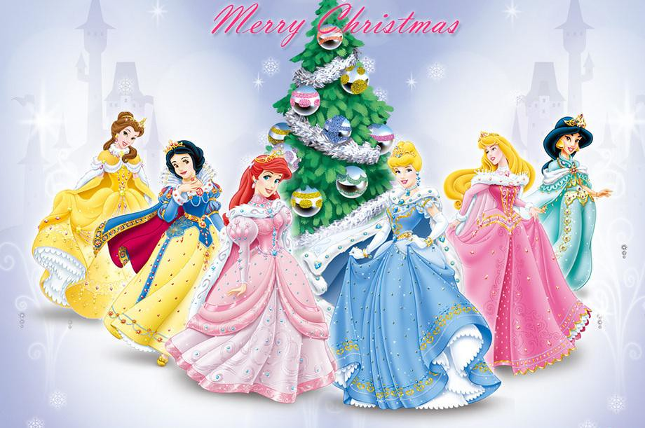 Merry Christmas Disney.Merry Christmas From The Disney Princess Here We Have A Ch