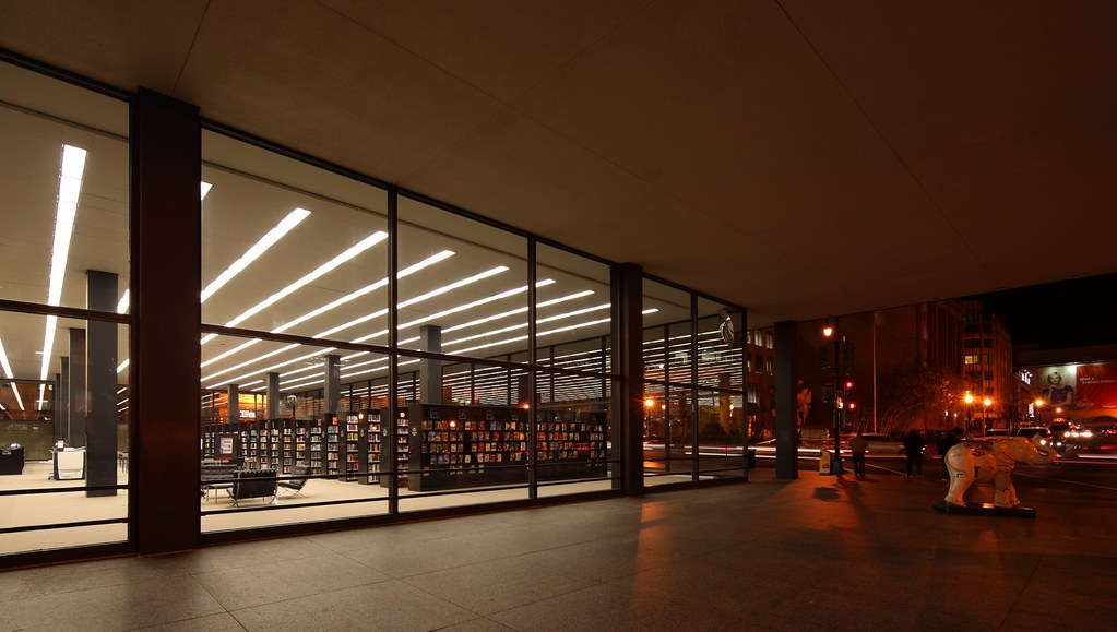 The Martin Luther King, Jr  Memorial Library | Architect: Lu