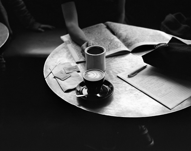 maps, cameras and coffee