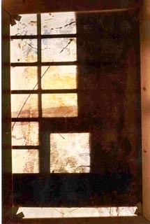 Art Contemporain, Jurgen Borgers,Transparence 1, 1991.