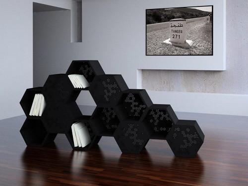 The Beehive Bookcases by Dar en Art