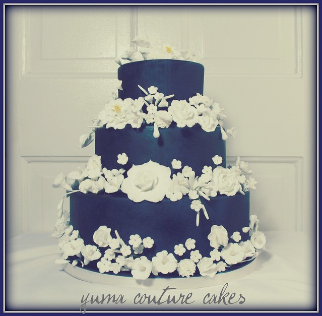 Wedding Cake Ideas Royal Blue: Wedding Cake Yuma Arizona