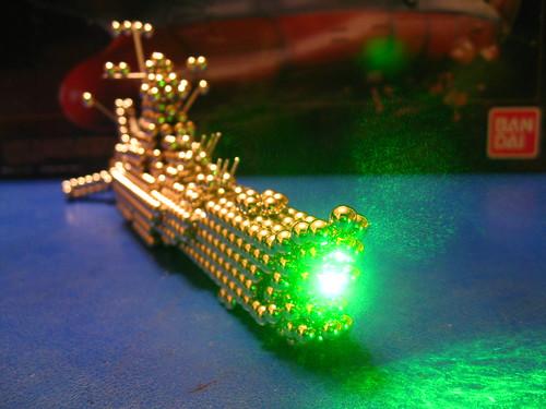 IMG_8041 - Space Battleship Yamato / Star Blazers Wave Motion Gun (Zen Style!)