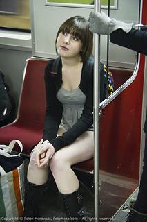2011 No Pants Subway Ride: Contemplation | by Peter Morawski