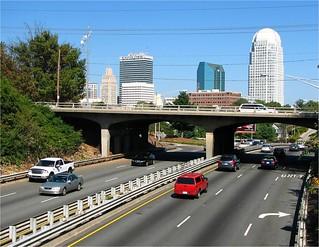 WS Skyline and NC DOT bridge
