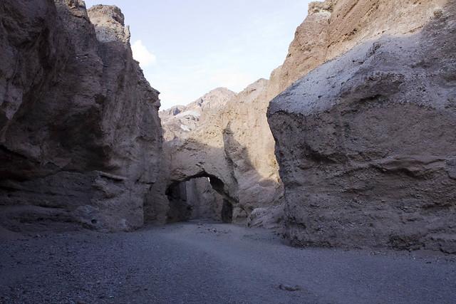 Death Valley Natural Bridge Canyon