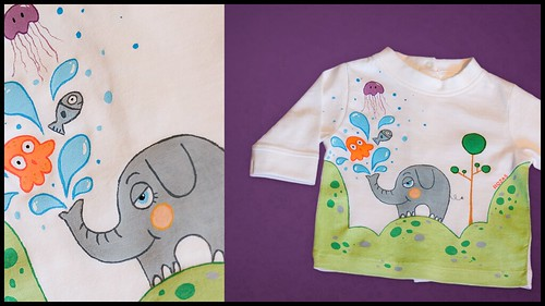 Camiseta Elefante Genís // Elephant Genís T-shirt | by Beatriz Rojas de la Rosa [illustration]