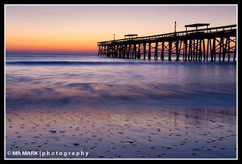 sunrise pier waves florida bubbles wells ameliaisland