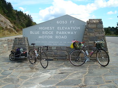 Highest point on the Parkway