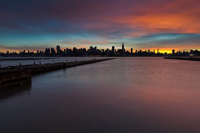 NYC Skyline from Weehawkin, NJ