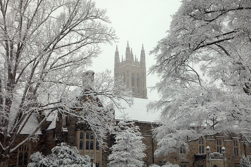 morning trees winter white snow storm college architecture sunrise campus dawn nc triangle university december durham gothic boxingday northcarolina duke chapel snowing chirstmas durhamnc dukeuniversity dukechapel westcampus bullcity