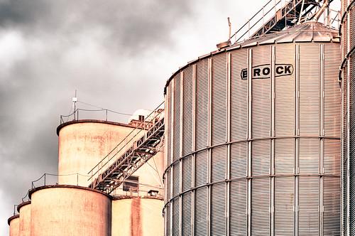 mi rural golden elevator grain silo hour leslie agriculture hdr