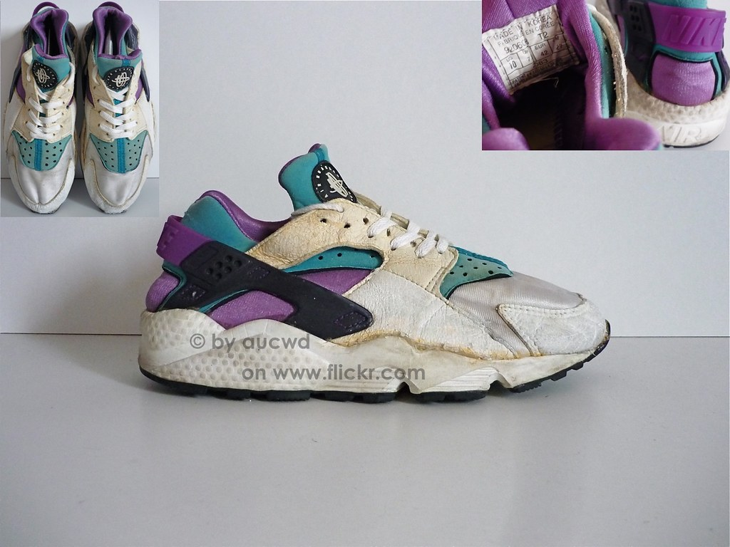 size 40 f50d7 e4776 ... 80`S   90`S VINTAGE NIKE AIR HUARACHE SHOES   by aucwd