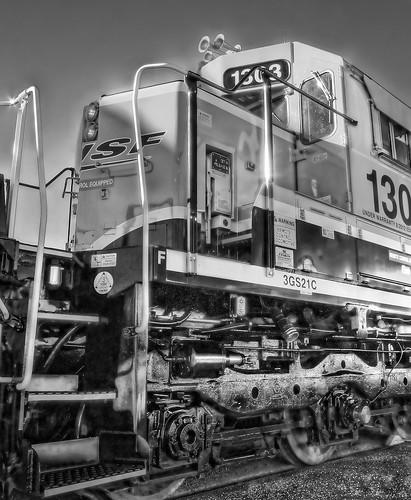 railroad train sunrise depot metrolink hdr bnsf cajonpass 1308 125thanniversary 3gs21c chasingsteelcom sanbernardinohistoryrrmuseum